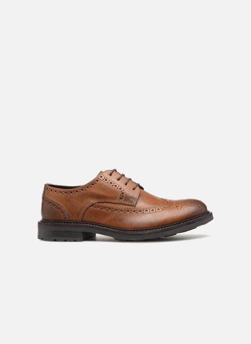 Zapatos con cordones Base London TREAD Marrón vistra trasera