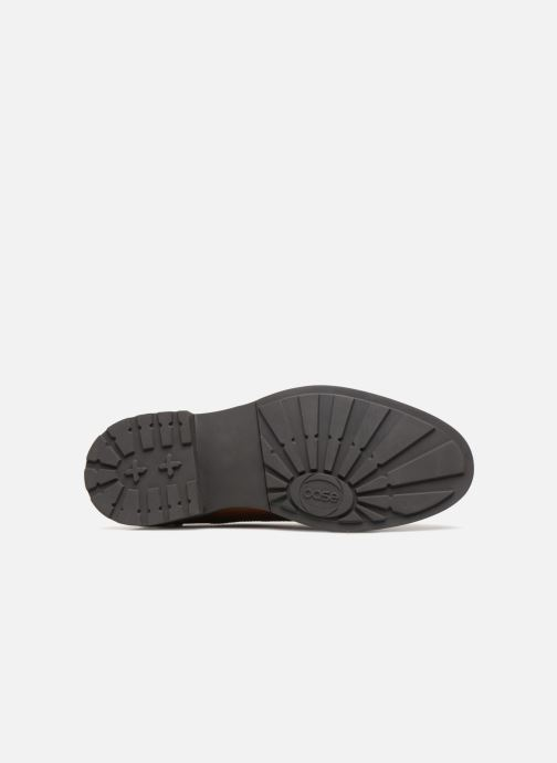 Zapatos con cordones Base London TREAD Marrón vista de arriba