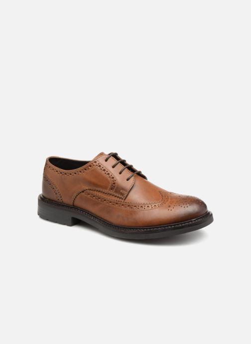 Zapatos con cordones Base London TREAD Marrón vista de detalle / par