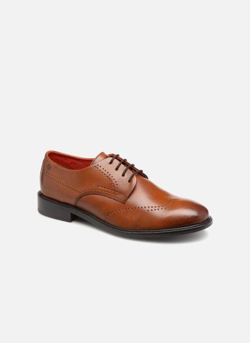 Chaussures à lacets Base London REGENT Marron vue détail/paire