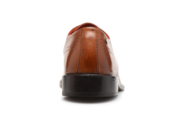 Chaussures à lacets Base London REGENT Marron vue droite