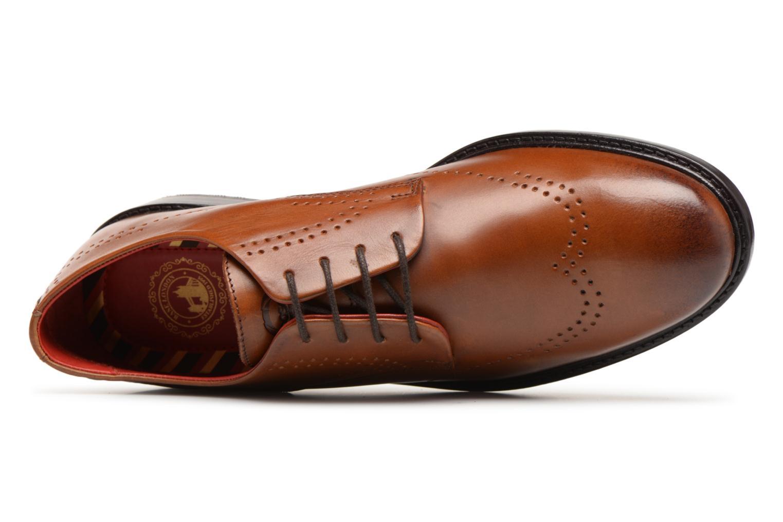 Chaussures à lacets Base London REGENT Marron vue gauche