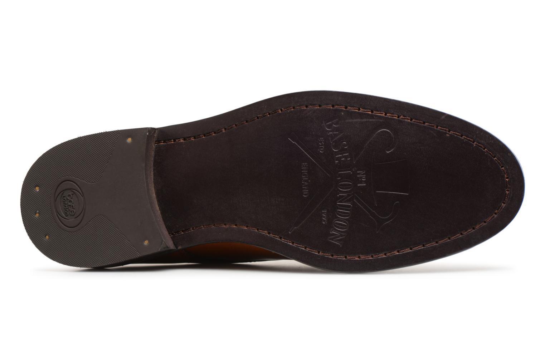 Chaussures à lacets Base London REGENT Marron vue haut