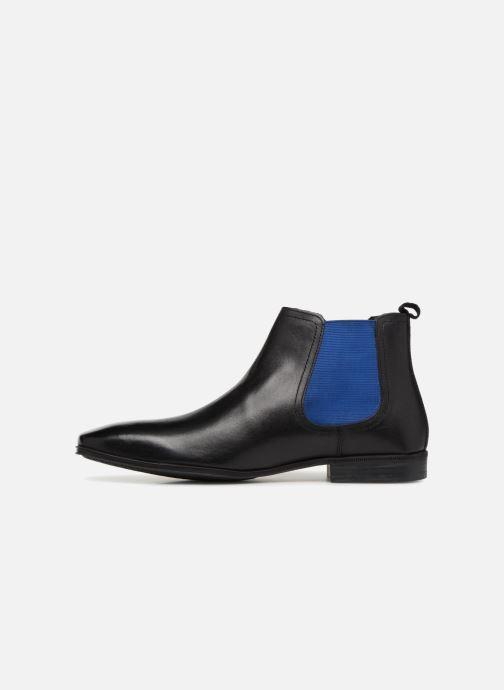 Bottines et boots Base London WEAVER Noir vue face