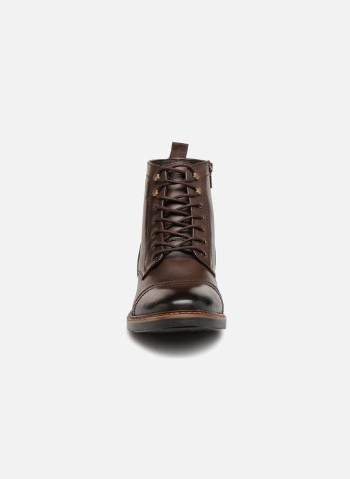 Bottines et boots Base London REYNOLD Marron vue portées chaussures