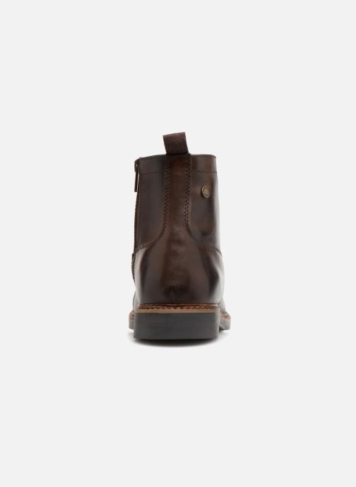 Bottines et boots Base London REYNOLD Marron vue droite