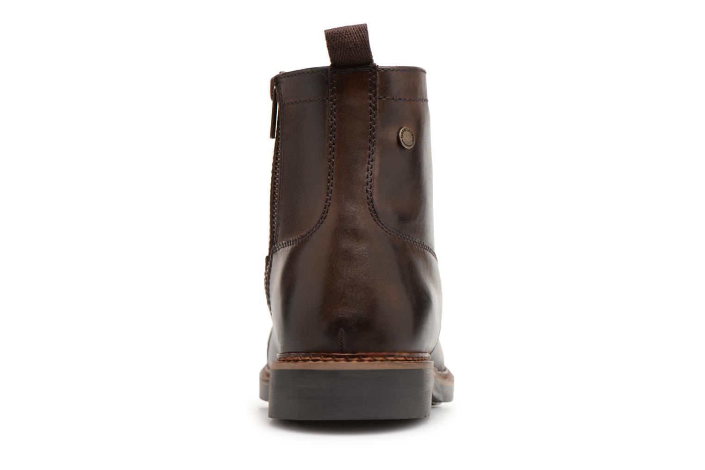 Bottines et boots Base London REYNOLD Marron vue droite