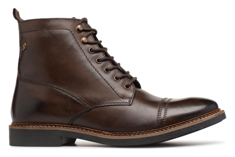 Bottines et boots Base London REYNOLD Marron vue derrière