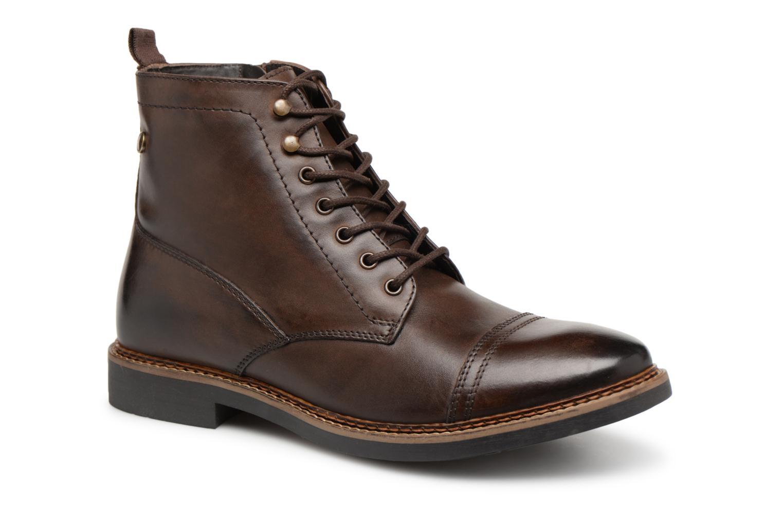 Bottines et boots Base London REYNOLD Marron vue détail/paire