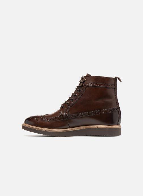 Stiefeletten & Boots Base London NEBULO braun ansicht von vorne