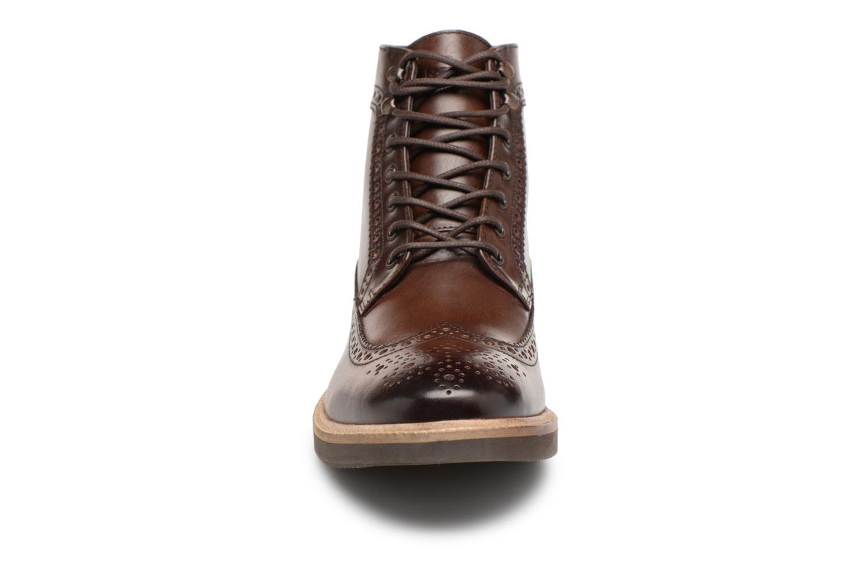 Stiefeletten & Boots Base London NEBULO braun schuhe getragen