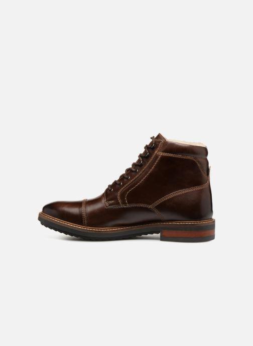 Bottines et boots Base London CONNOR Marron vue face