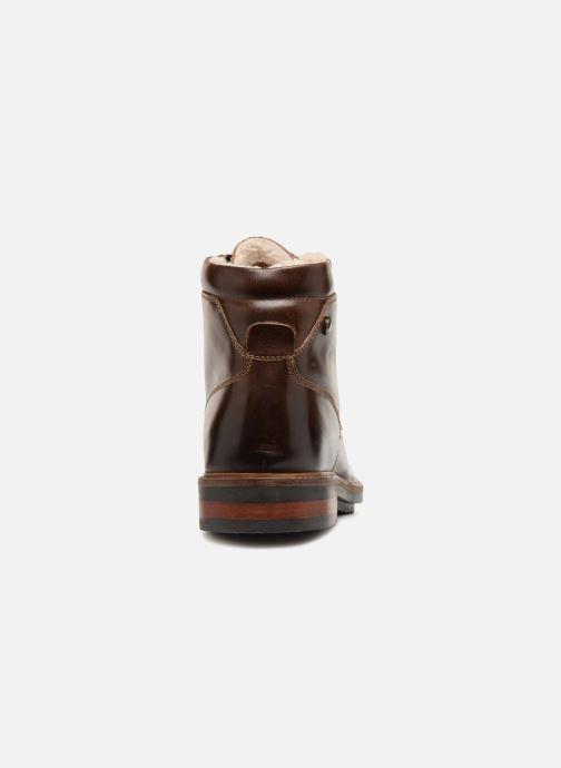Bottines et boots Base London CONNOR Marron vue droite
