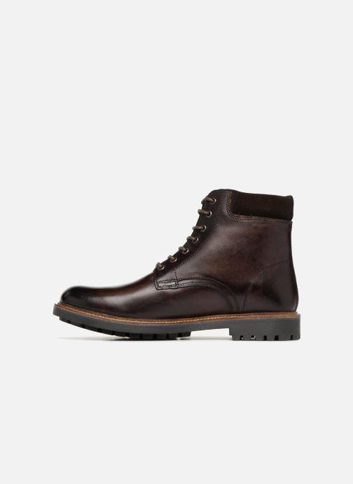 Boots en enkellaarsjes Base London ELK Bruin voorkant