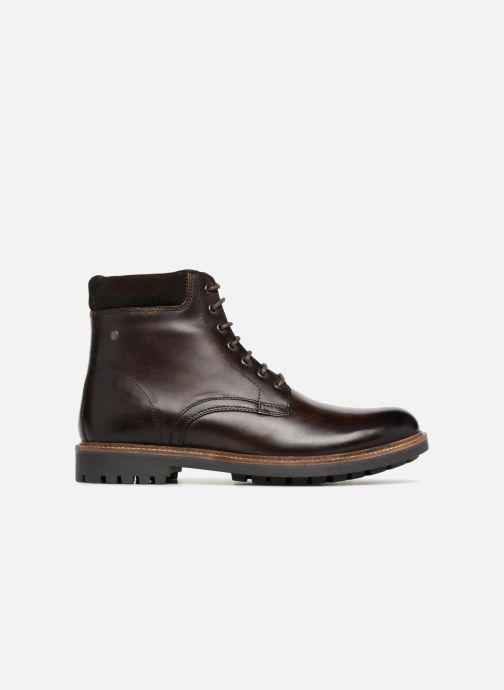 Boots en enkellaarsjes Base London ELK Bruin achterkant