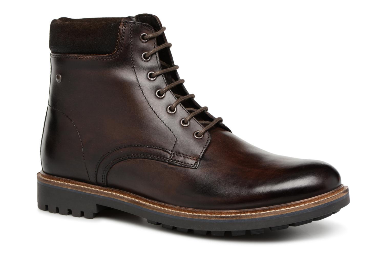 Base London ELK (Marron) - Bottines et boots en Más cómodo Confortable et belle
