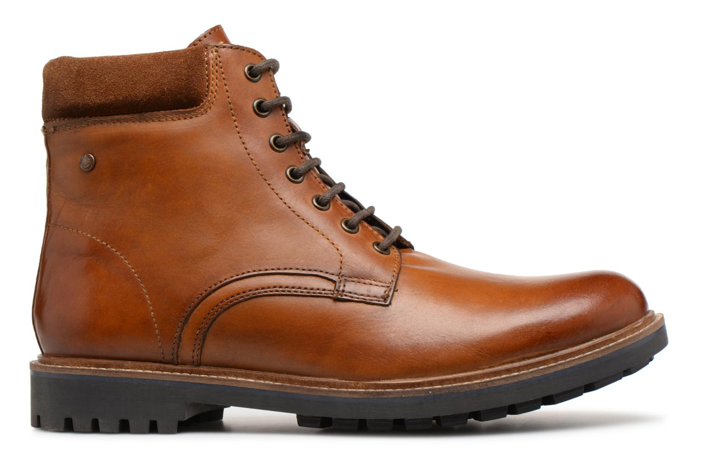 Bottines et boots Base London ELK Marron vue derrière