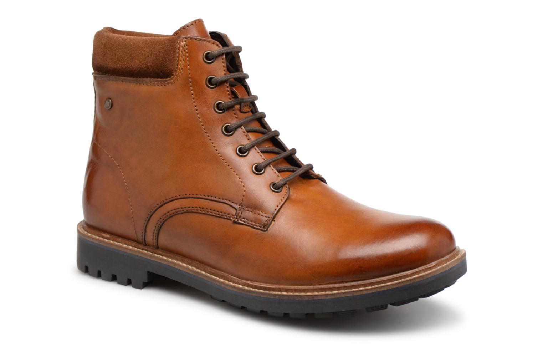 Bottines et boots Base London ELK Marron vue détail/paire