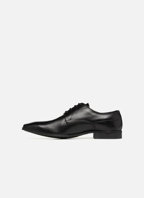 Zapatos con cordones Base London TYNE Negro vista de frente