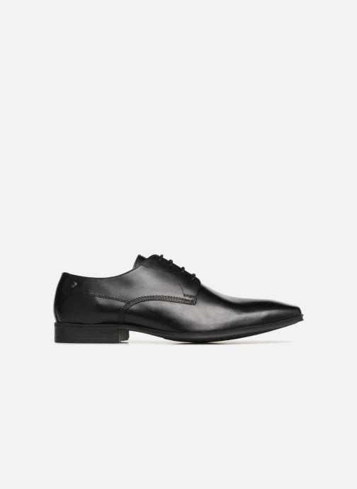 Zapatos con cordones Base London TYNE Negro vistra trasera