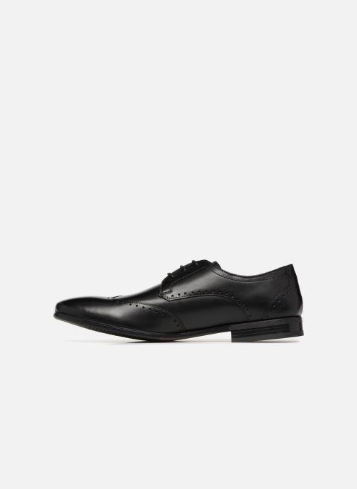 Chaussures à lacets Base London BUCKINGHAM Noir vue face
