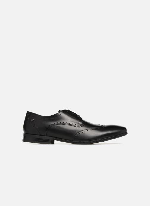Zapatos con cordones Base London BUCKINGHAM Negro vistra trasera