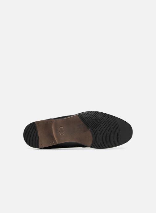 Chaussures à lacets Base London BUCKINGHAM Noir vue haut
