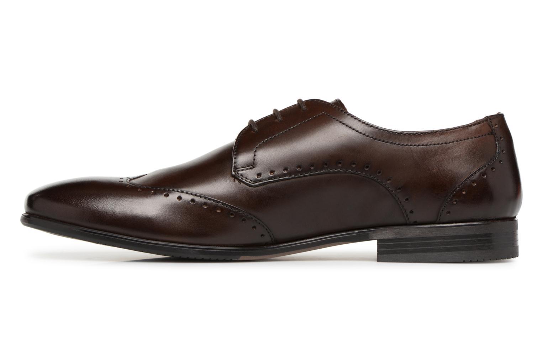 Chaussures à lacets Base London BUCKINGHAM Marron vue face