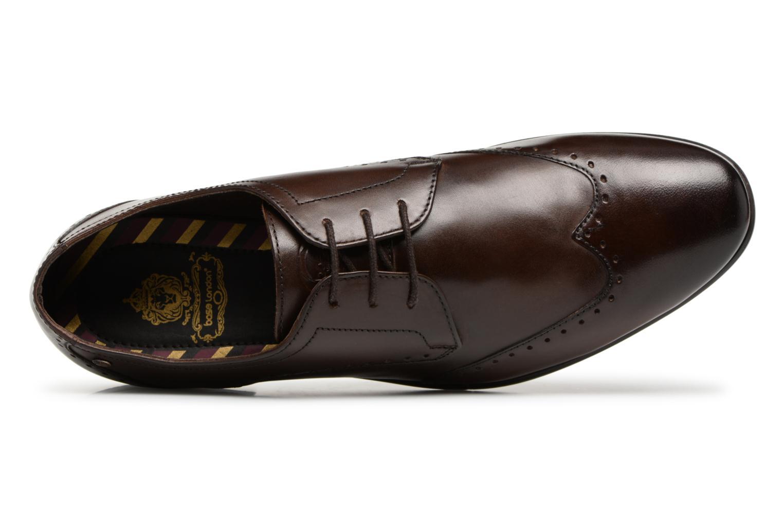 Chaussures à lacets Base London BUCKINGHAM Marron vue gauche