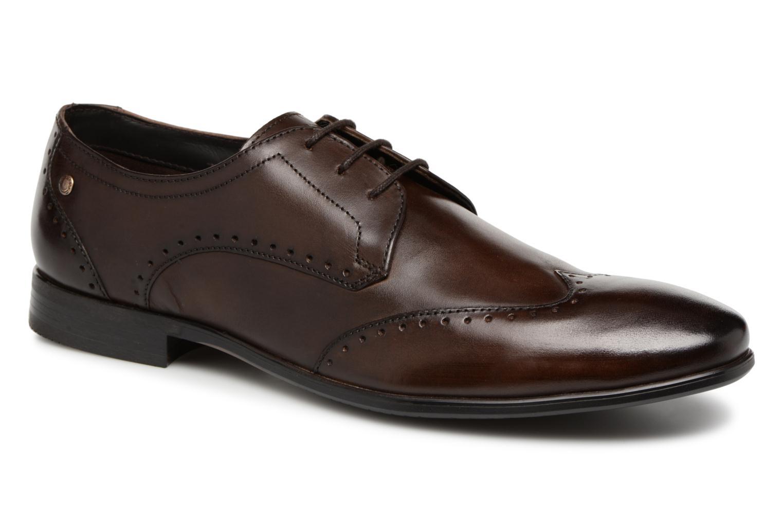 Chaussures à lacets Base London BUCKINGHAM Marron vue détail/paire