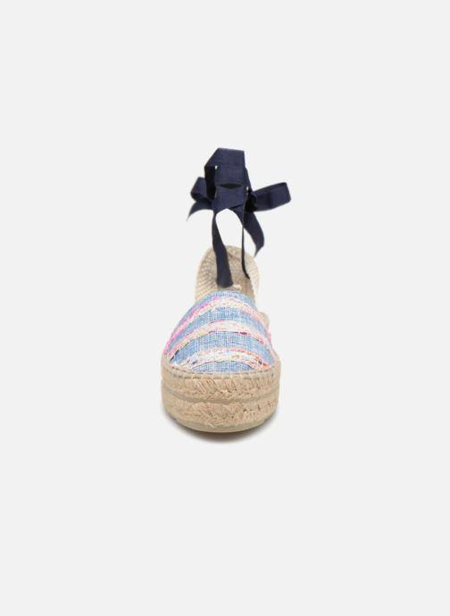 Espadrilles Manebi Ibiza Bleu vue portées chaussures