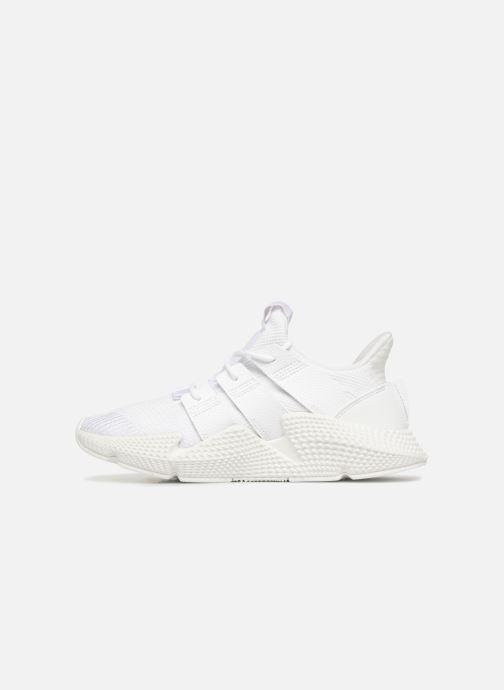 Sneaker adidas originals Prophere J weiß ansicht von vorne