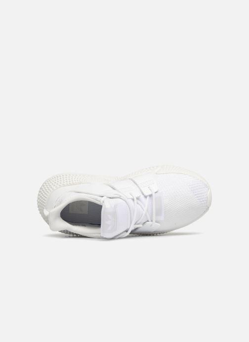 Sneaker adidas originals Prophere J weiß ansicht von links