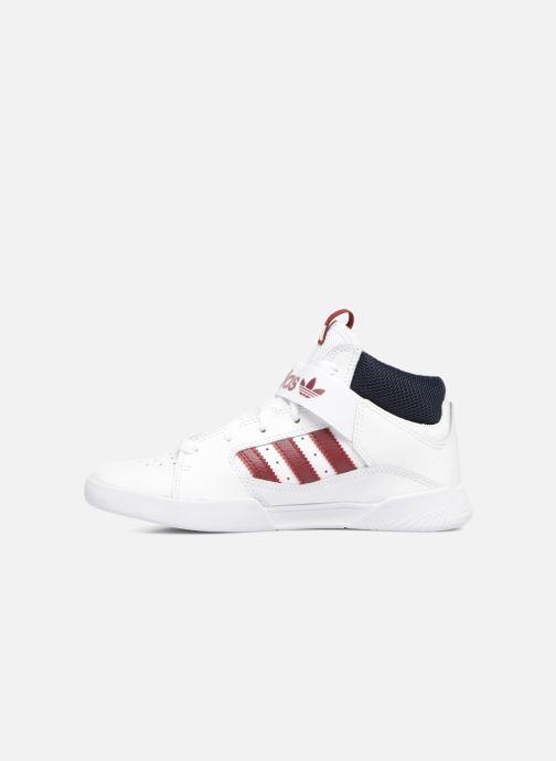 Sneakers adidas originals VRX Mid J Bianco immagine frontale