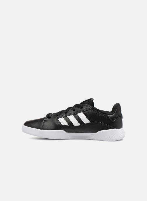Sneakers adidas originals VRX Low J Zwart voorkant