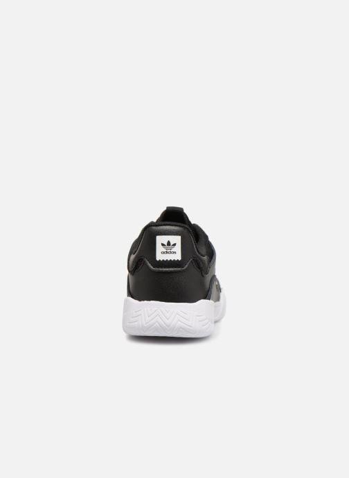 Sneakers adidas originals VRX Low J Zwart rechts