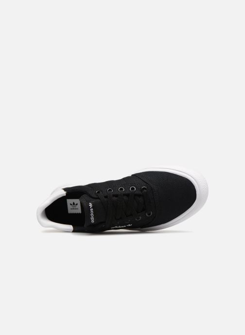 Baskets Adidas Originals 3MC J Noir vue gauche