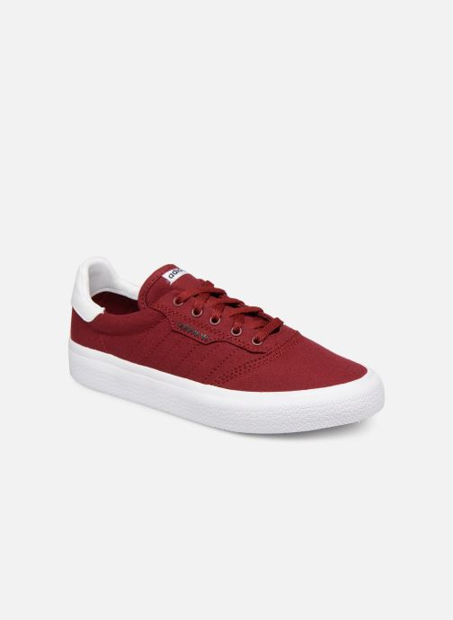 Baskets adidas originals 3MC J Bordeaux vue détail/paire
