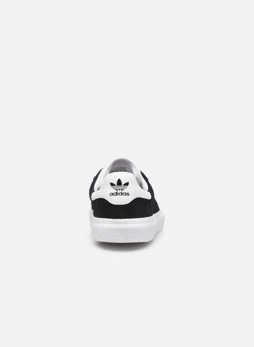 Baskets adidas originals 3MC J Noir vue droite