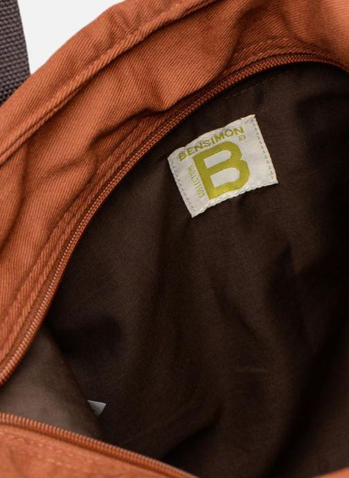 Sporttassen Bensimon F19218C52217 Bruin achterkant
