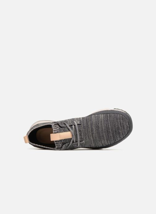 Trainers Clarks Tri Native Grey view from the left