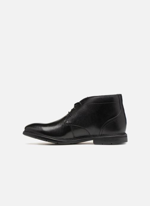 Bottines et boots Clarks Banbury Mid Noir vue face