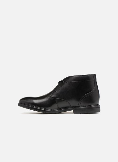 Ankle boots Clarks Banbury Mid Black front view