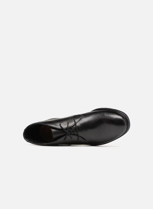 Bottines et boots Clarks Banbury Mid Noir vue gauche
