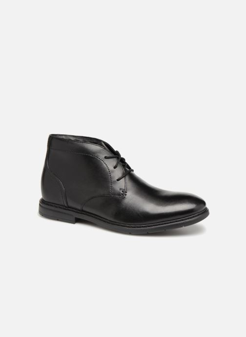 Ankle boots Clarks Banbury Mid Black detailed view/ Pair view