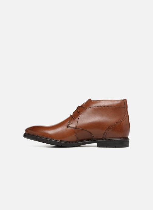 Ankle boots Clarks Banbury Mid Brown front view