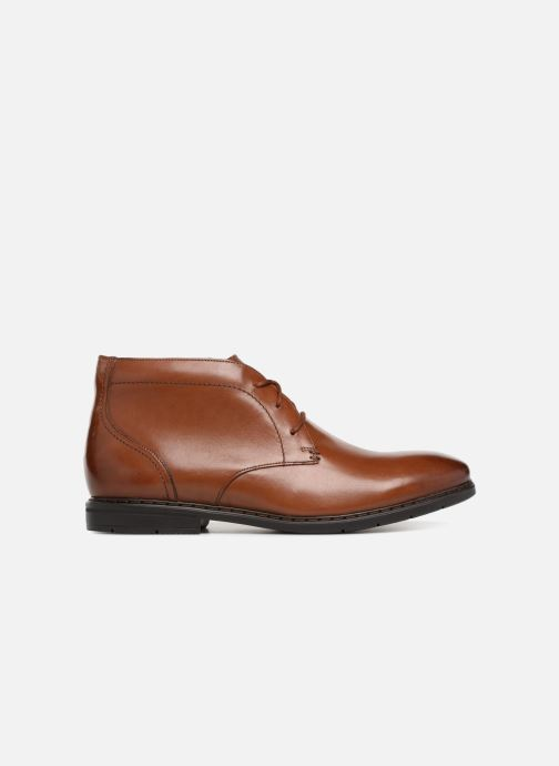 Ankle boots Clarks Banbury Mid Brown back view