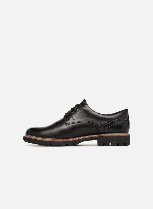Chaussures à lacets Clarks Batcombe Hall Noir vue face