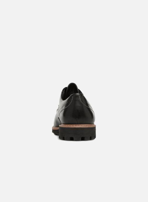Chaussures à lacets Clarks Batcombe Hall Noir vue droite