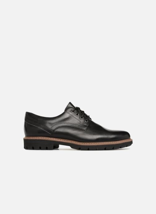 Lace-up shoes Clarks Batcombe Hall Black back view
